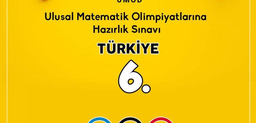 UMOD Türkiye 6.sıyız,